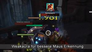 Weakaura für Kreis um den cursor