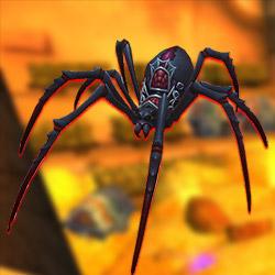 eine giftige Spinne die aussieht wie eine Blutfangwitwe